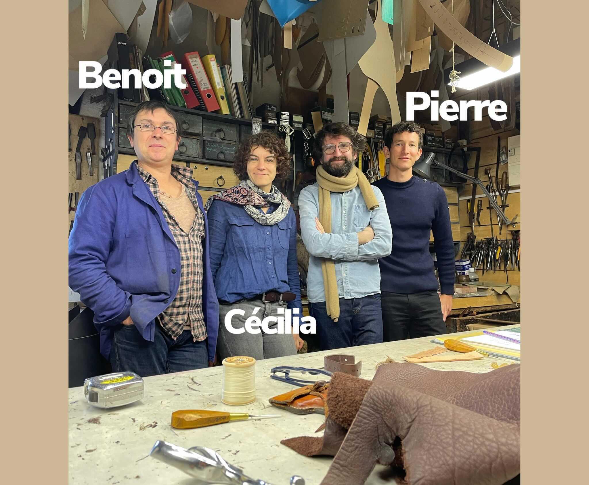 fondateurs des Ateliers Mumo