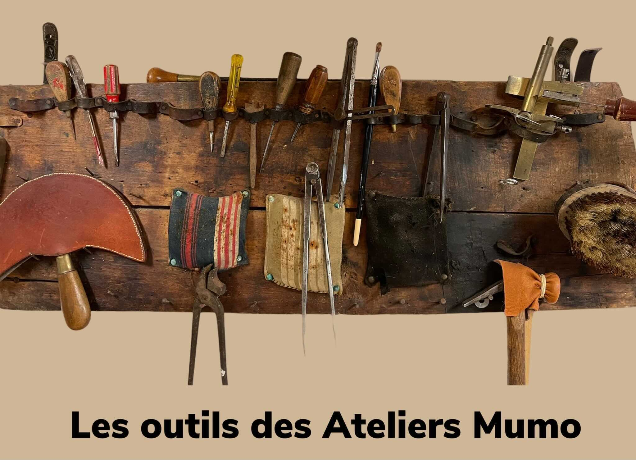 les outils du sellier maroquinier made in france