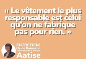Rencontre avec Heide, fondatrice de la marque Aatise.